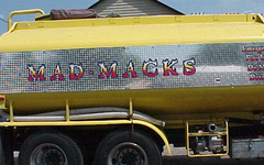 Mad Macks Water Truck