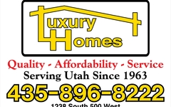 8x12 Luxury Homes Main Sign Econolite